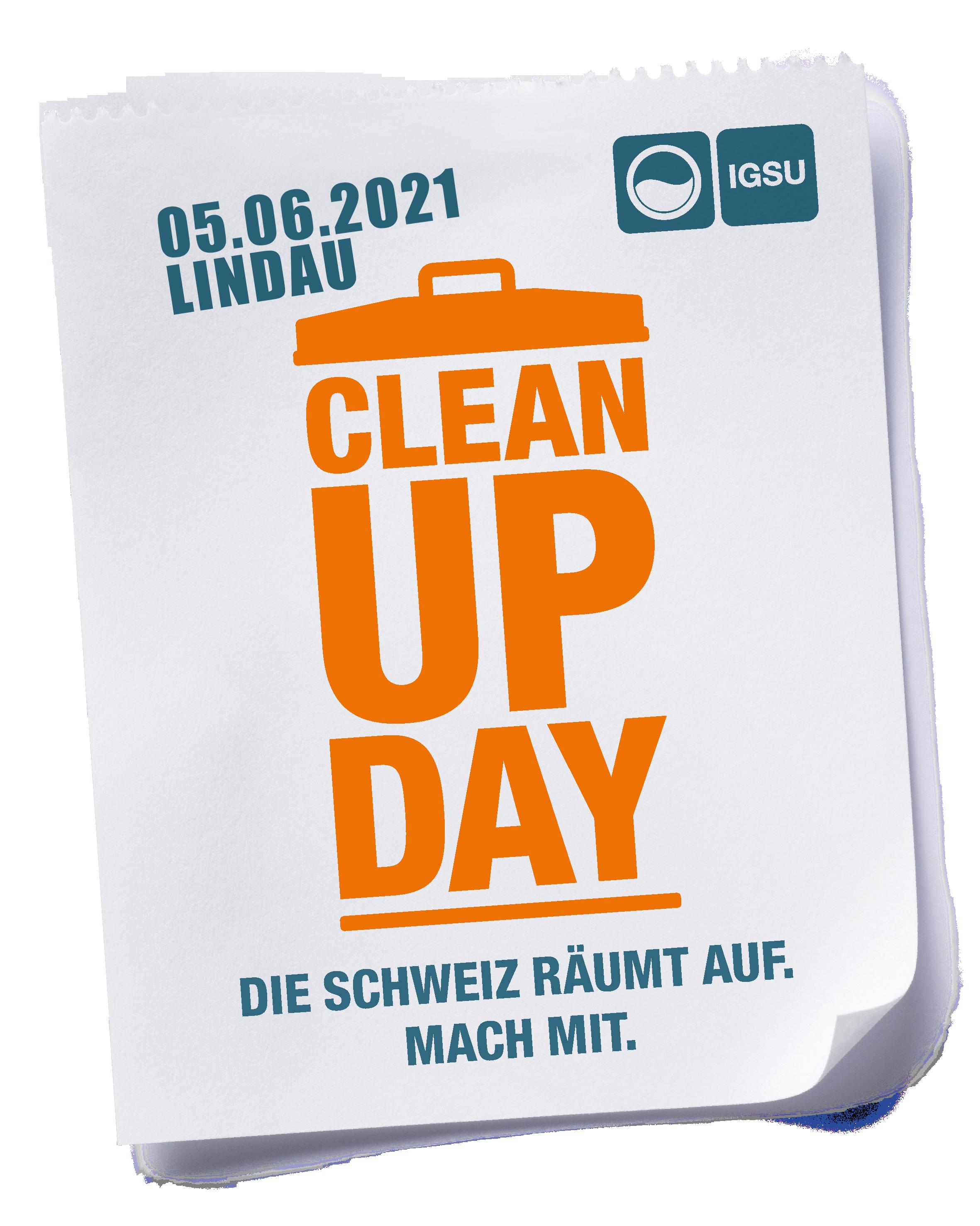 Clean Up Day Gemeinde Lindau ZH